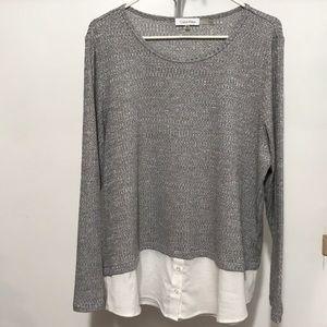 Calvin Klein women shirts/Top size XL